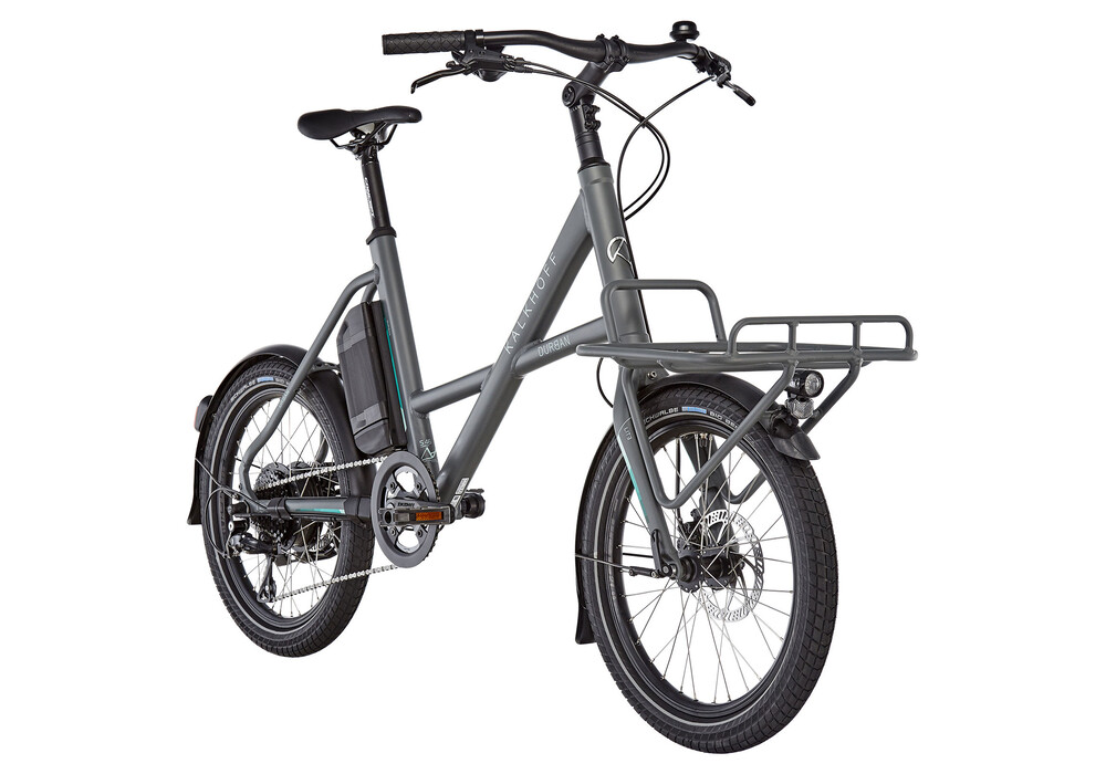 Kalkhoff Durban Compact Comfort G8 E-City Bike 20 252Wh grey at Bikester.co.uk
